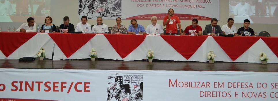Pluralidade de ideias, democracia e fortalecimento da luta deram o tom ao 11º Congresso do SINTSEF/CE